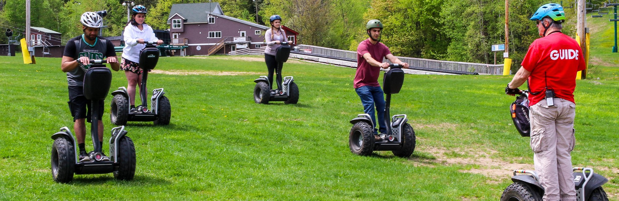 Segway drivers with gude